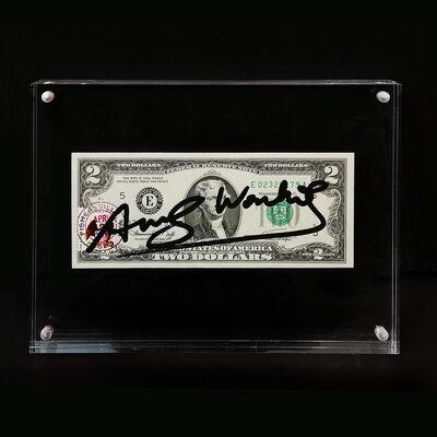Andy Warhol, 'Two Dollars Bill', 1963