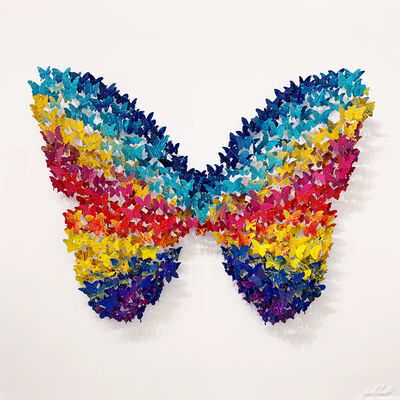 Joel Amit, 'Circle of Life (Butterfly)', 2021