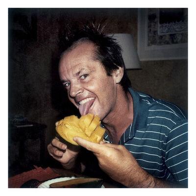 Willy Rizzo, 'Jack Nicholson with Mango, Saint Tropez, France', 1979