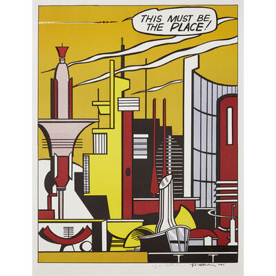 Roy Lichtenstein, 'This Must Be The Place', 1965
