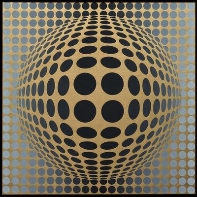 Victor Vasarely, 'Vega-Or', 1969