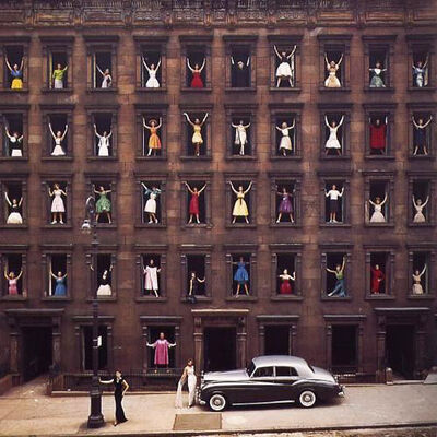 Ormond Gigli, 'Models in the Windows, New York City', 1960 (printed later)
