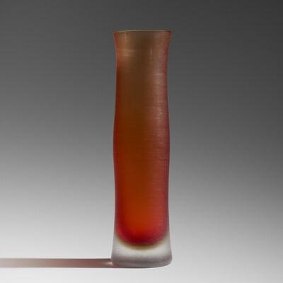 Paolo Venini, 'Inciso vase', c. 1956