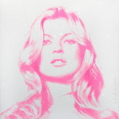 Mr. Brainwash, 'Kate Moss (Pink)', 2016