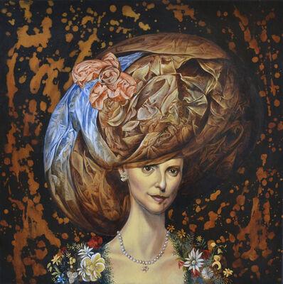 Carlos Antonio Sablon Perez, 'Femme au Chapeau', 2017