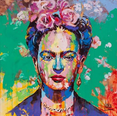 Voka, 'Frida, 170 x 170 cm', 2019