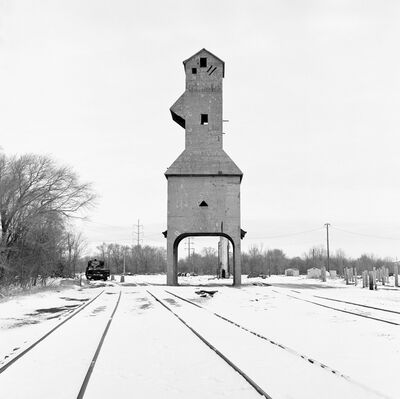 Jeff Brouws, 'Coaling Tower #65', 2013