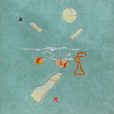 Gianfranco Baruchello, 'La situazione odierna nei territori del presque-rien', 2001