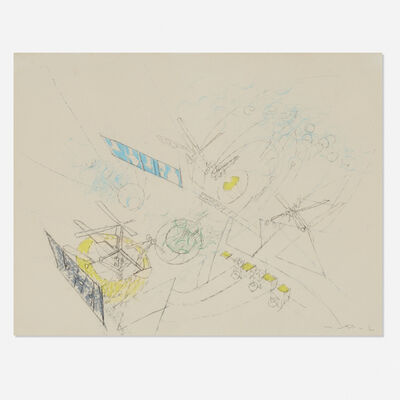 Roberto Matta, 'Study for a painting', 1960