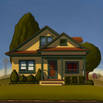 R. Kenton Nelson, 'Farmhouse', 2017
