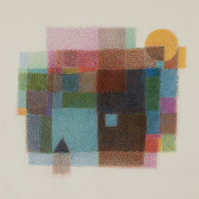 Sanda Iliescu, 'The Blue Pool: Color Meditation ', 2017