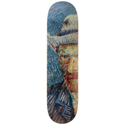 Vincent van Gogh, 'Self-Portrait Solo Skateboard Deck after Vincent Van Gogh', 2019