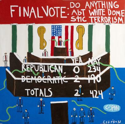 Esteban Whiteside, 'Final Vote #1', 2020