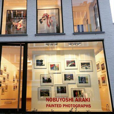 Nobuyoshi Araki :  Painted Photographs, installation view