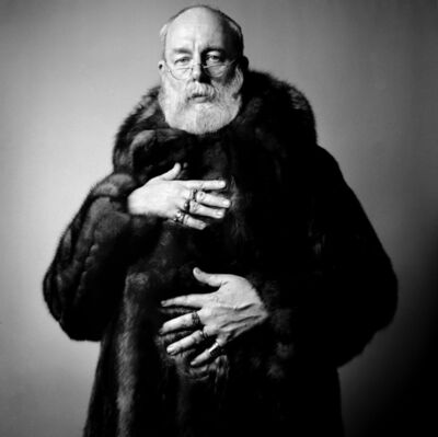 Richard Corman, 'Edward Gorey', 1983