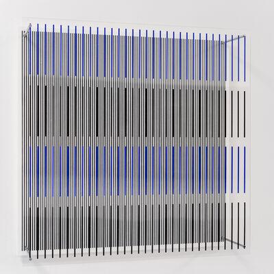 Jesús Rafael Soto, 'Tes Azules y Negras', 1979