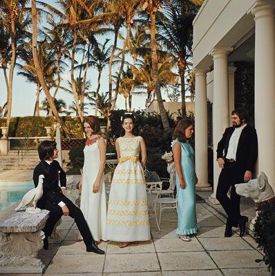 Slim Aarons, 'Palm Beach Debutantes (Slim Aarons Estate Edition)', 1968