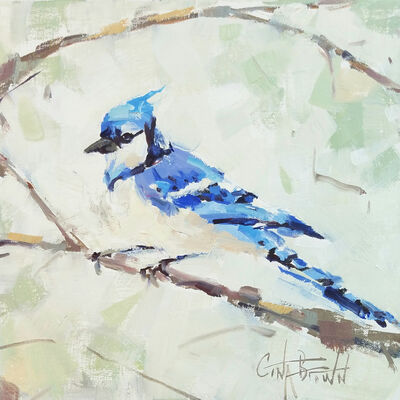 Gina Brown, 'Blue Jay', 2019