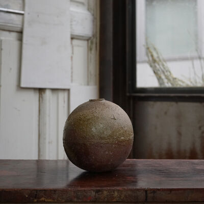 Shiro Tsujimura, 'Round Jar -bizen style- st00812', 1980-2010
