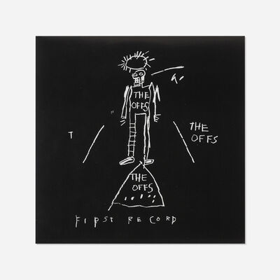 After Jean-Michel Basquiat, 'The Offs First Record LP', 1984
