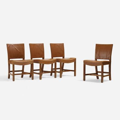 Kaare Klint, 'Barcelona Chairs Model 3758, Set of Four', 1927