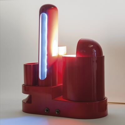 Gae Aulenti, 'A 'Rimorchiatore' (Tug) table lamp', 1968