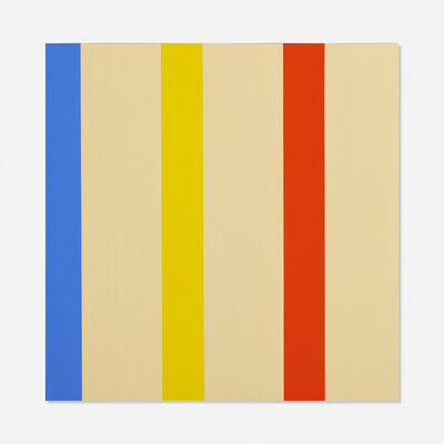 Oli Sihvonen, '3 x 3 Blue, Yellow, Red', 1977