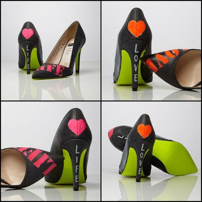 Emanuela Montorro, 'Lime | Genuine Leather Shoes ', 2020