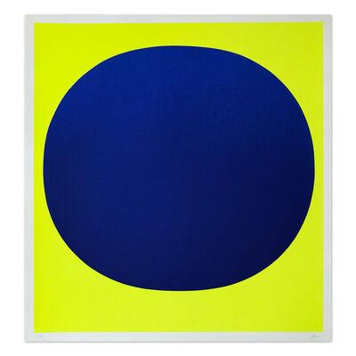 Rupprecht Geiger, 'Blue on Yellow', 1969