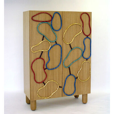 Elizabeth Garouste, 'Cabinet with rings ', 2006