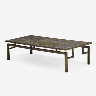 Philip and Kelvin LaVerne, 'Chin Ying coffee table', c. 1965