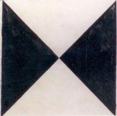 Hercules Barsotti, 'Triângulos no quadrado'