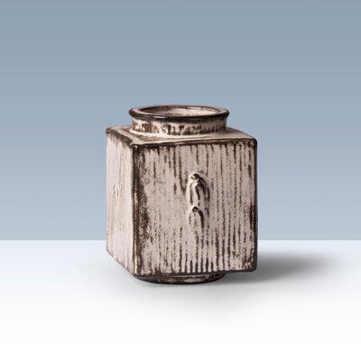 Svend Hammershøi, 'Square earthenware vase.', 1926-1939