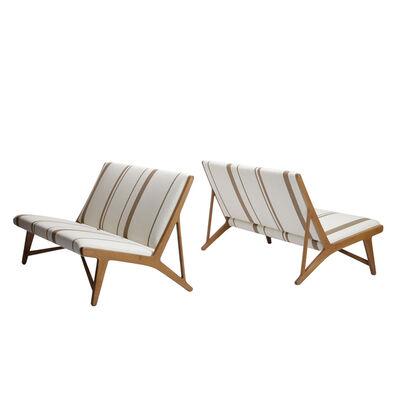 Hans Jørgensen Wegner, 'Pair of benches', 1949