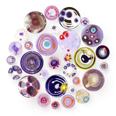 Klari Reis, 'Hypochondria 30 (Purple)', 2016