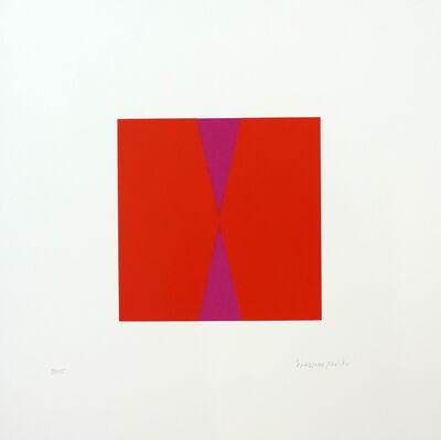 Vera Molnar, 'Fond ou Forme 2A', 1970-2010
