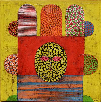 Gustavo Ortiz, 'Colourful Hair II', 2016