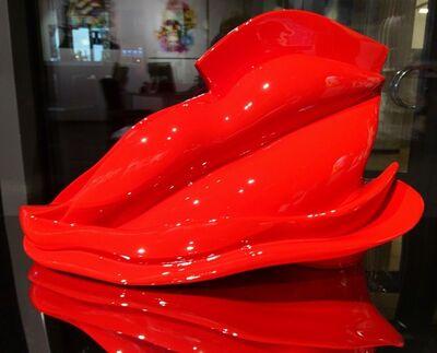 Nouna, 'Bouche GM Rouge', 2017