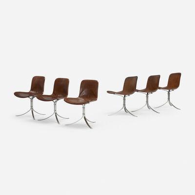 Poul Kjærholm, 'PK 9 chairs, set of six', 1960