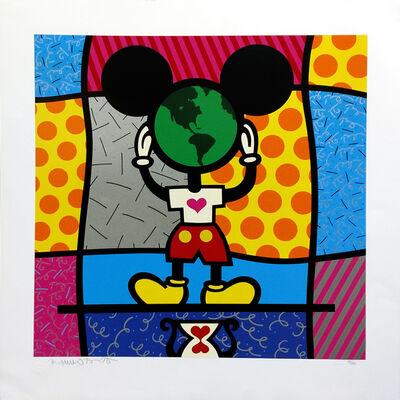 Romero Britto, 'MICKEY'S WORLD', 1997