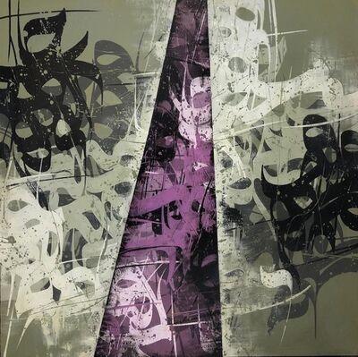 Babak Rashvand, 'Green & Purple', 2019
