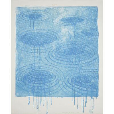 David Hockney, 'Weather Series-Rain', 1973