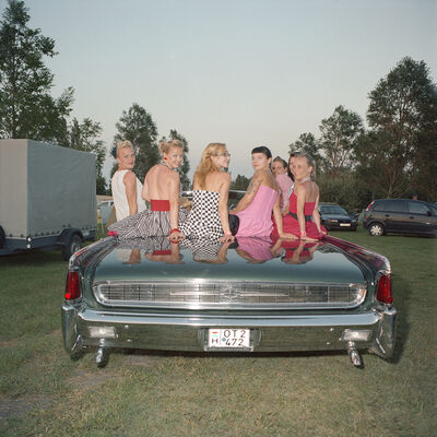 Naomi Harris, 'Rockabilly Girls, Rock & Roll and US Car Weekend, Agard, Hungary', 2008-2015