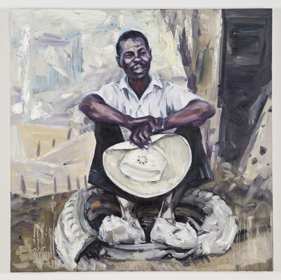 Hung Liu, 'Working Man #3', 2015-16