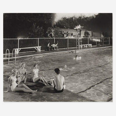 O. Winston Link, 'Swimming Pool, Welch, West Virginia'