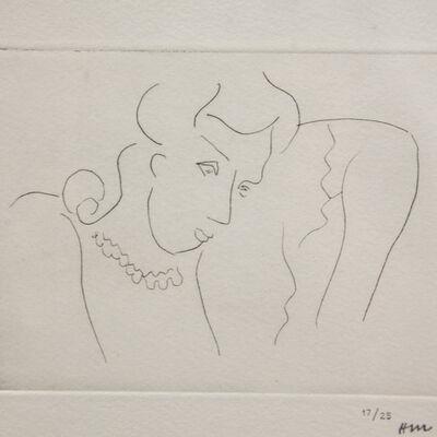 Henri Matisse, 'Jeune femme au collier', 1936