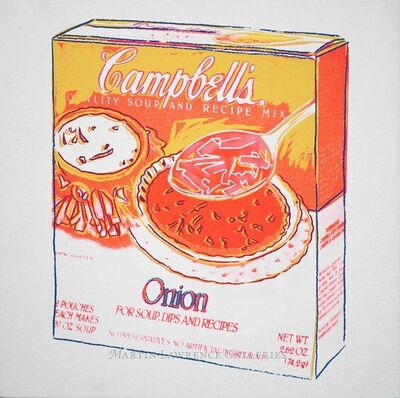 Andy Warhol, 'Onion, 1986 (Campbell's Soup Box)', 1986