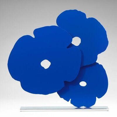 Donald Sultan, 'Donald Sultan, Blue Poppies', 2015