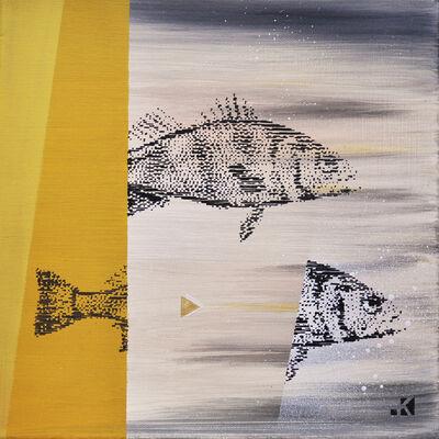 Krayon, 'Fishes n° 2', 2017