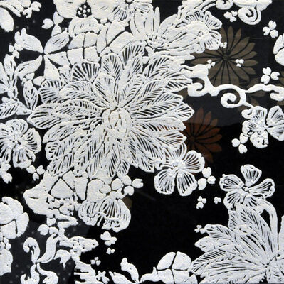 Shinji OHMAKI, 'Echoes - Crystallization Flower(black)', 2014